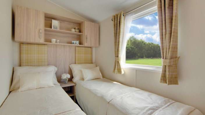 7 Willerby Rio Premier Twin Bedroom