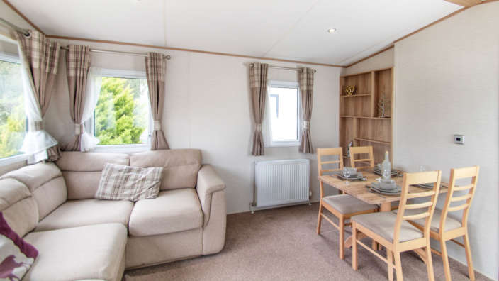 ABI Derwent Preowned dining caravan holiday home