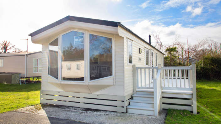 Willerby Sierra holiday home exterior