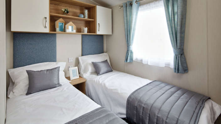 Willerby Sierra holiday home twin bedroom