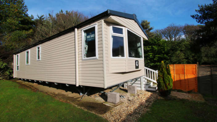 Swift-Adventurer-preowned-caravan-sited-at-Shorefield-Country-Park