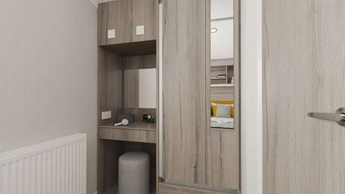 Swift ardennes Bedroom Cupboard