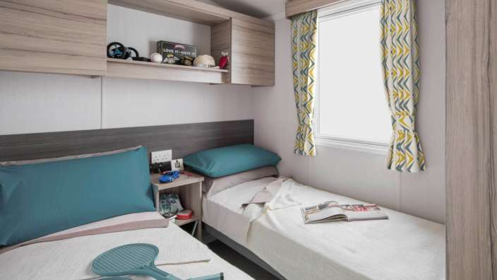 7 Swift Loire Twin Bedroom