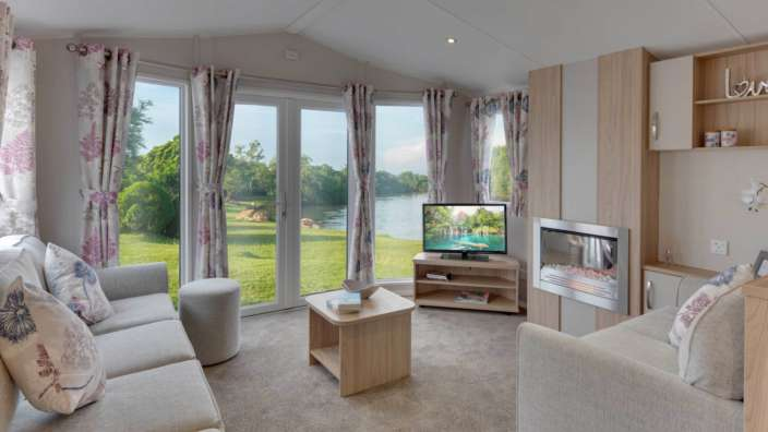 2 Willerby Brockenhurst Lounge Outlook