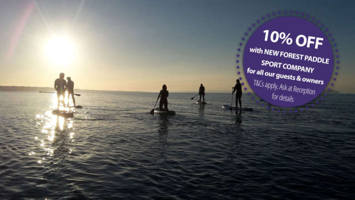 10 percent off at New Forest Paddle Sport Company