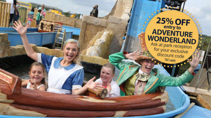 Adventure-wonderland-25-discounted-entry-for-shorefield-holidays-guests