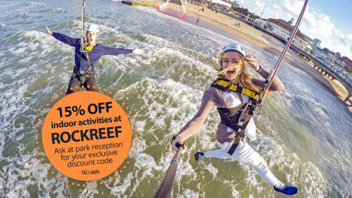 Rockreef-Bournemouth-Shorefield-Holidays-exclusive-offer-for-all-our-parks