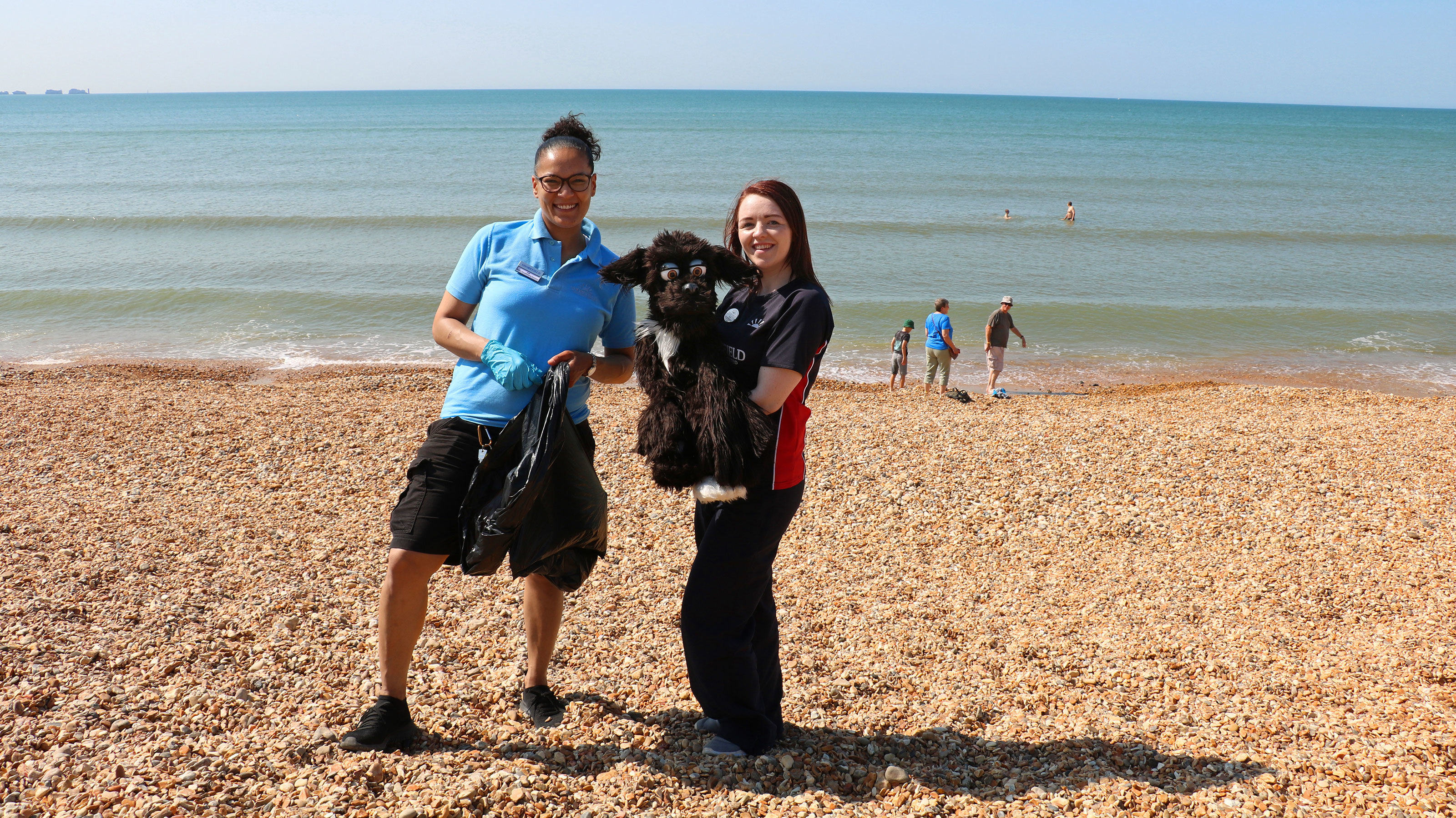 Jade-from-Housekeeping-and-Nicole-from-the-Entertainments-Team-at-Shorefield-Holidays