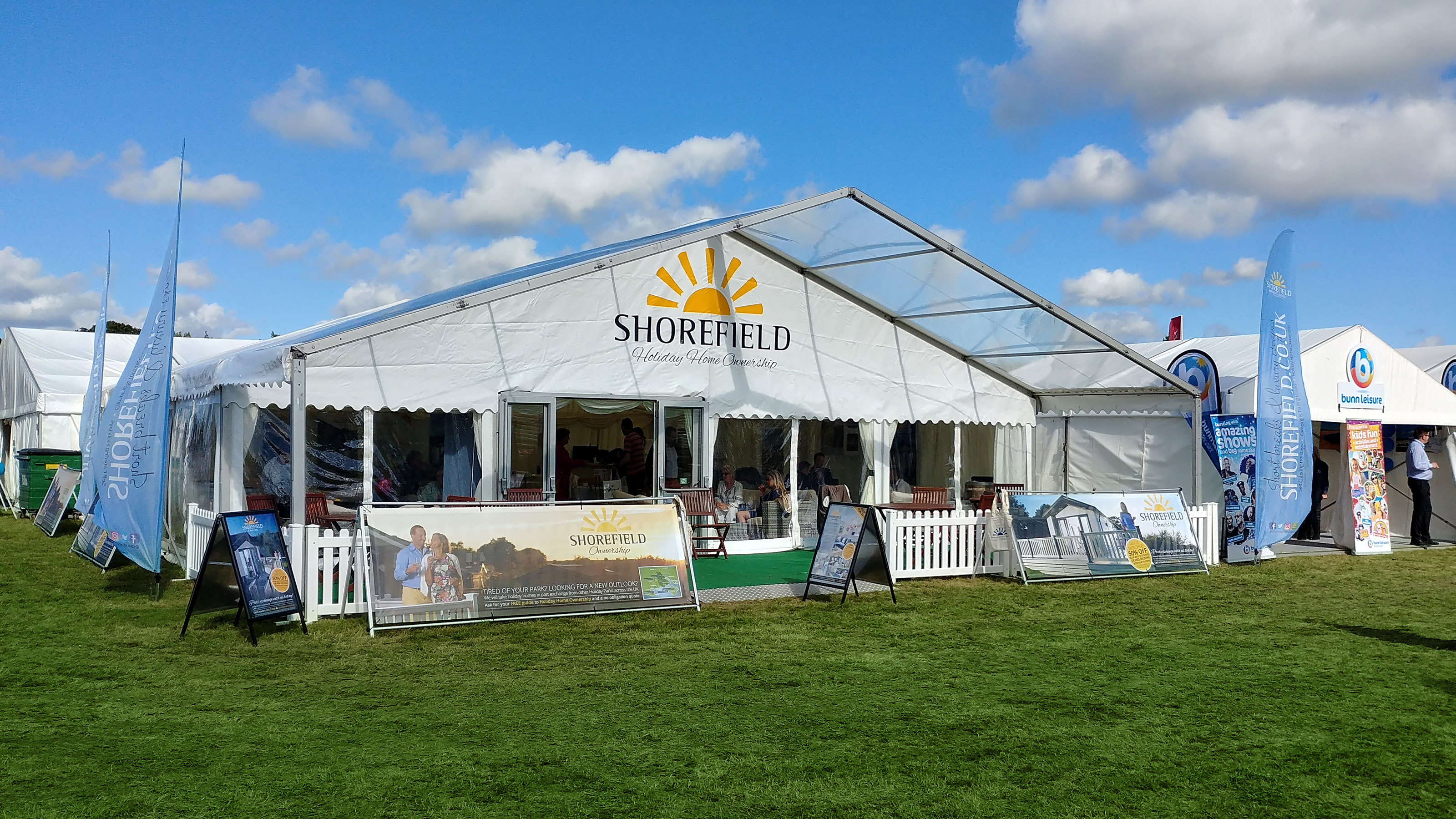 Shorefield-Holidays-marquee-at-the-Beaulieu-Show