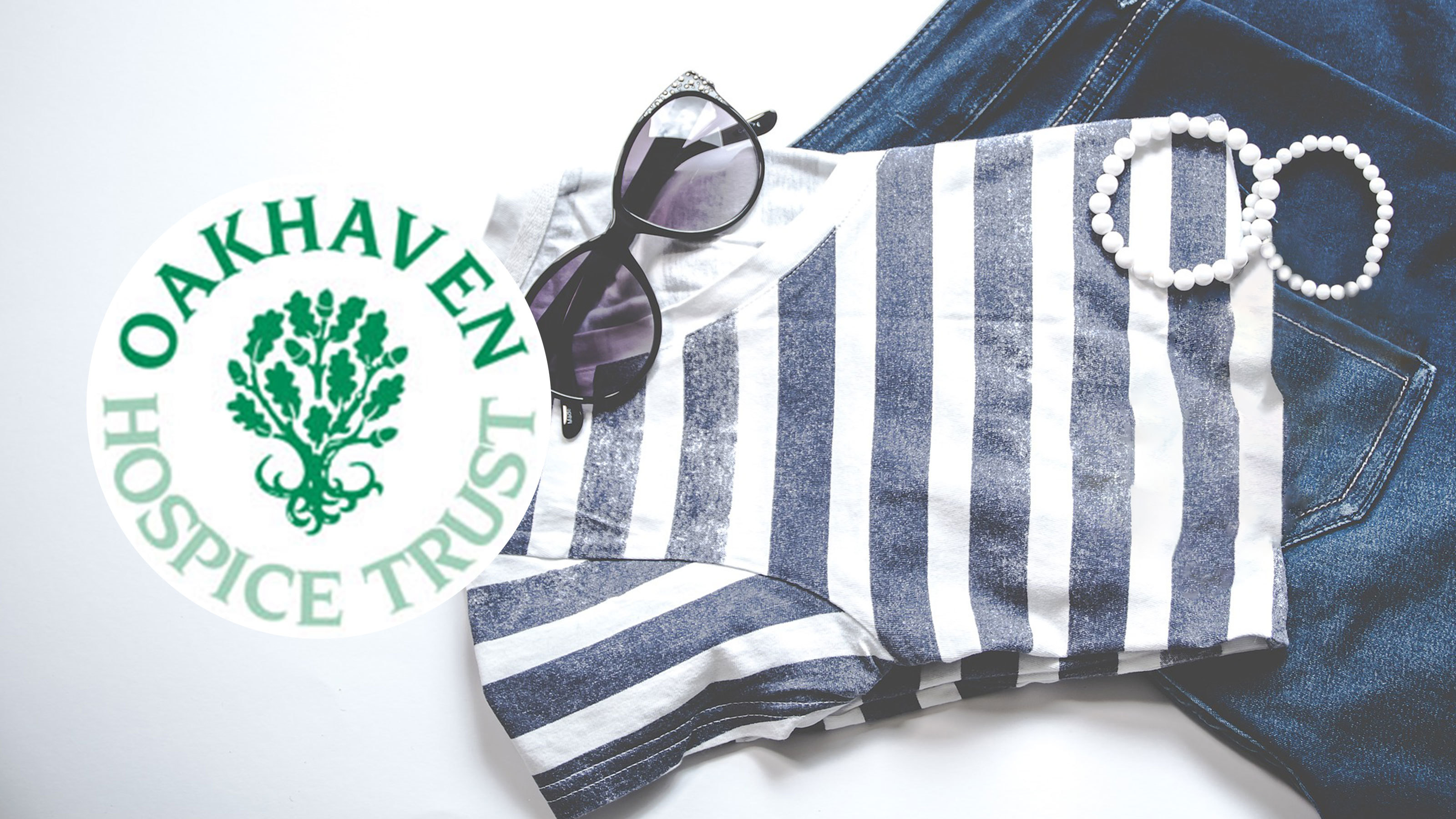 Casual-clothes-Oakhaven-Hospice-logo-fundraising
