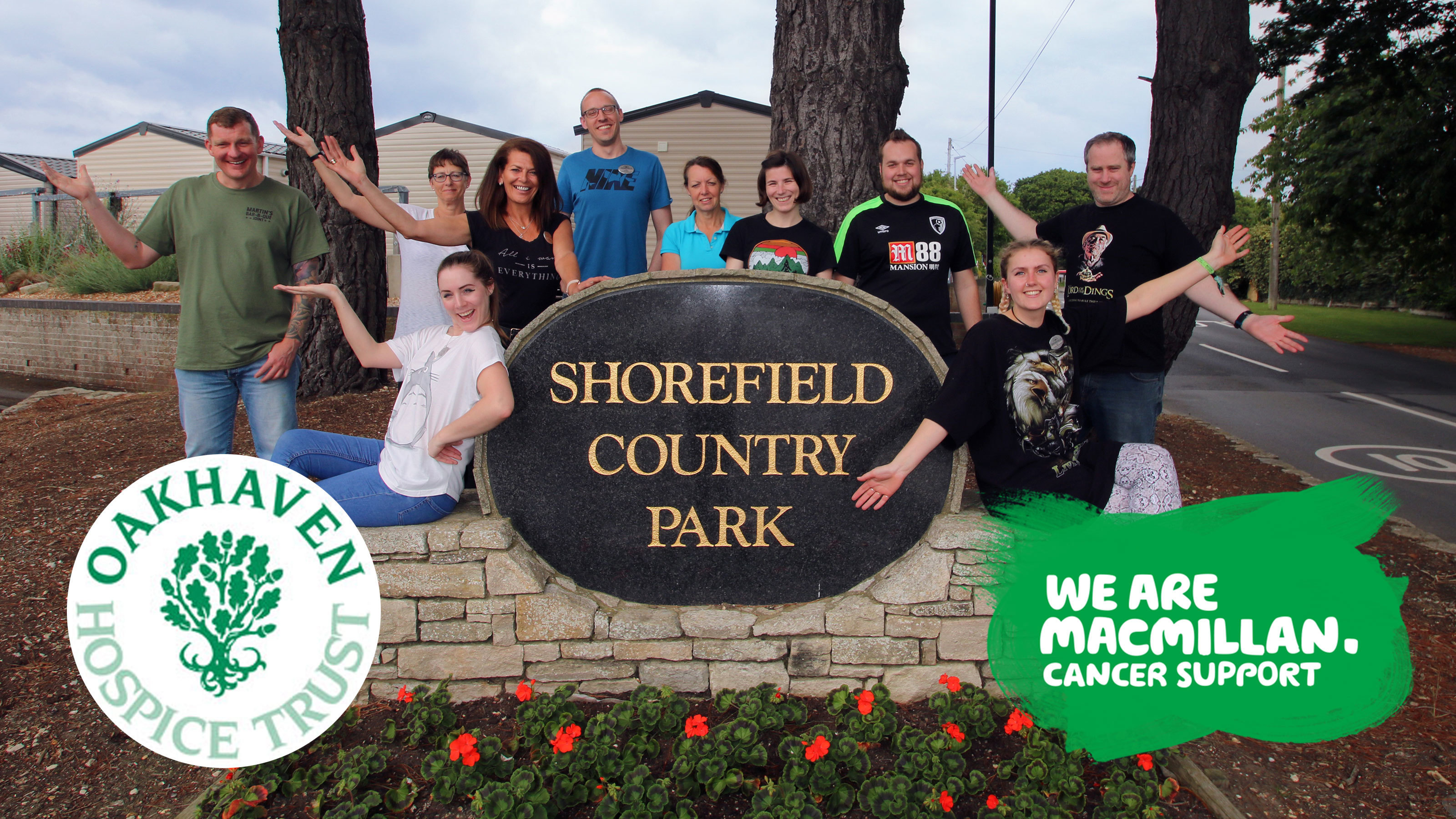 Shorefield-Holidays-hosts-tshirt-Tuesday-for-Oakhaven-Hospice