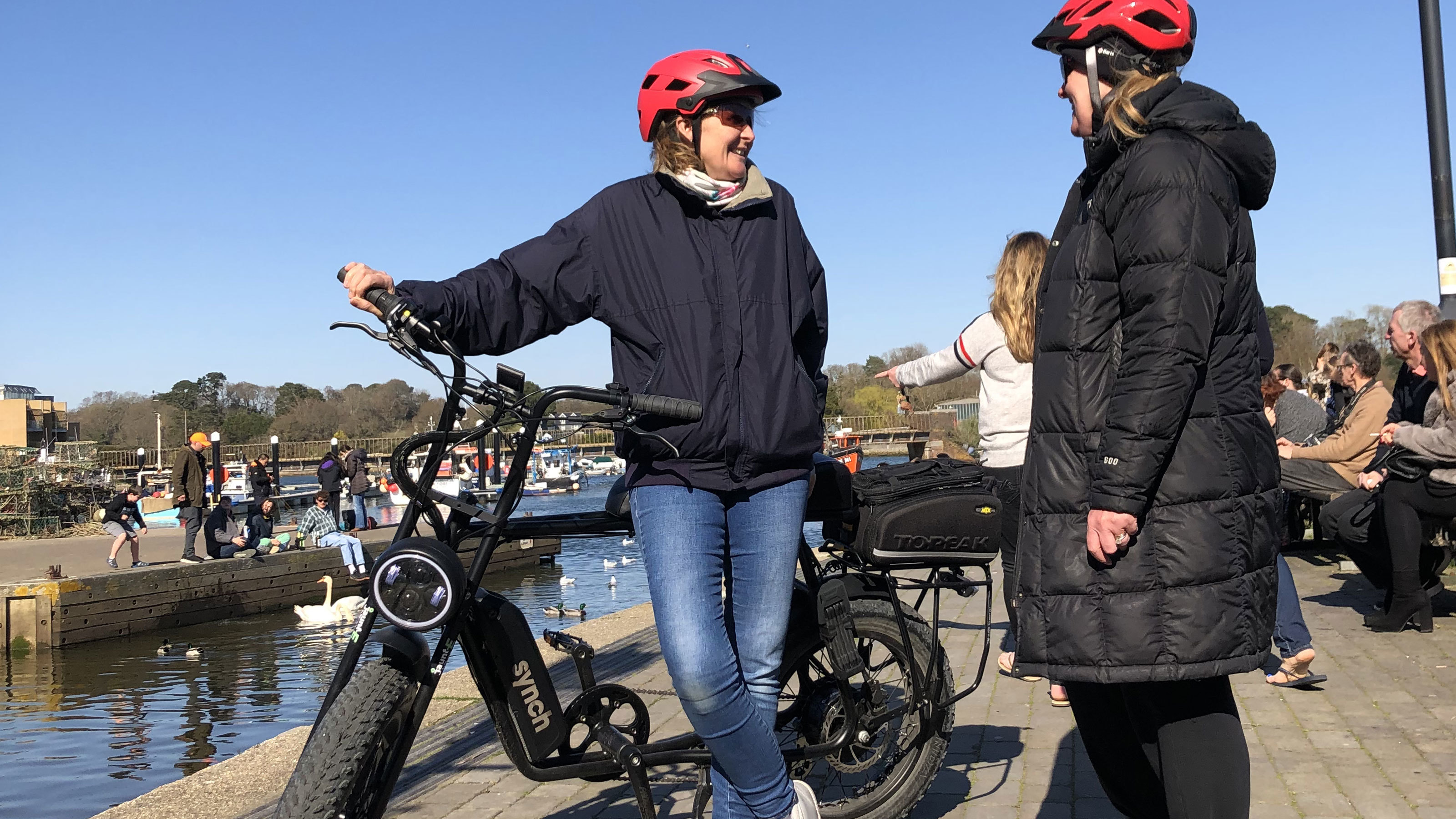 Jaunt e electric bikes out and about