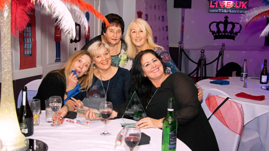 Swanage-win-Team-of-the-Year-at-the-Shorefield-Staff-Awards-Gala