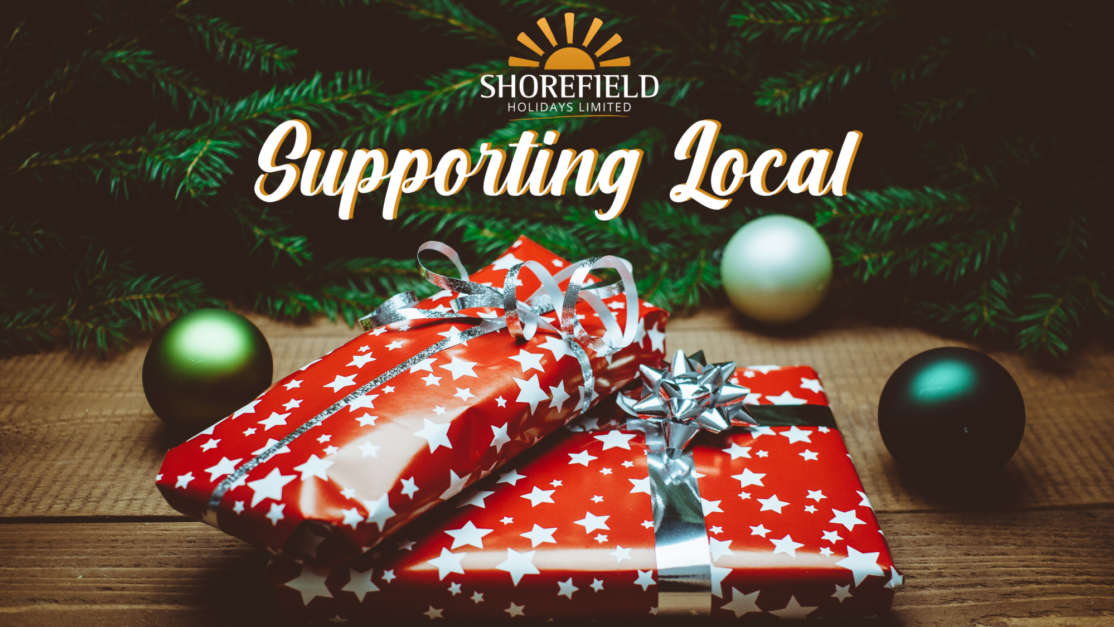 Supporting local christmas gifts