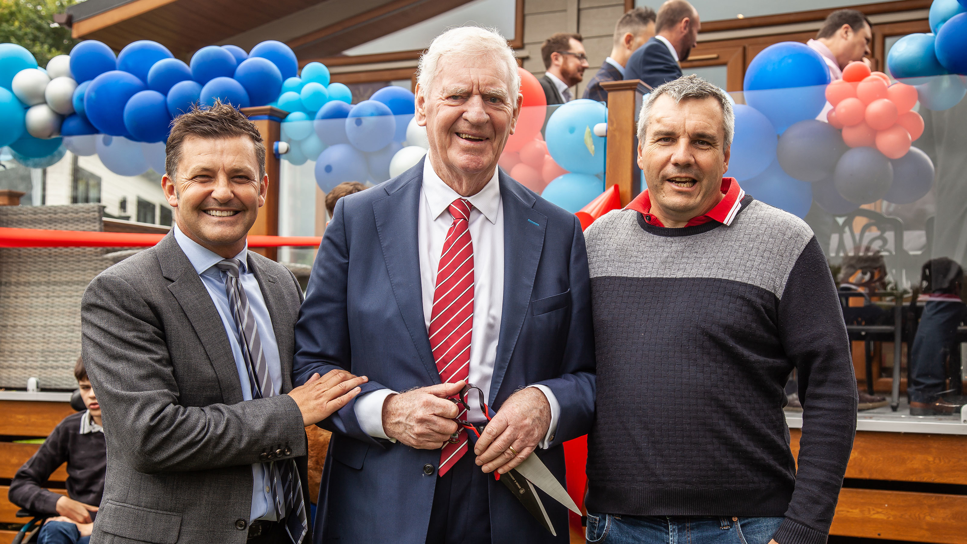 Nicky-Banger-CEO-at-The-Knights-Foundation-with-Lawrie-Mcmenemy-CBE-at-the-official-opening