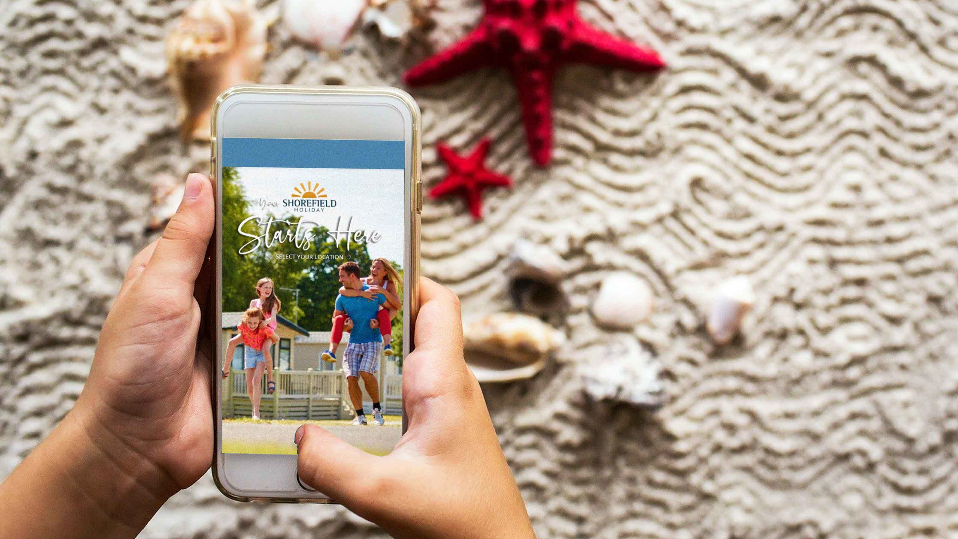Shorefield Holidays app
