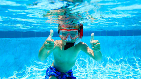 7 Pool Swimming Child Snorkel