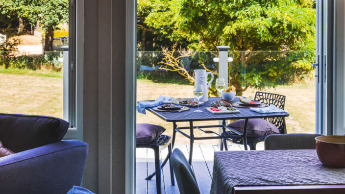 2 Decking Table Patio Food
