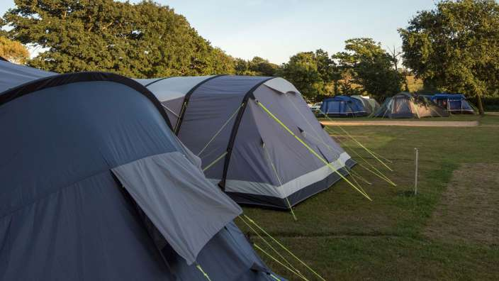 3 Tents Camping Trees Pitches