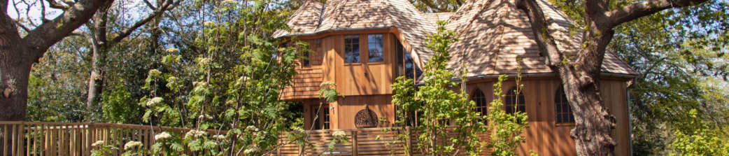 Silvertree house header new forest treehouse