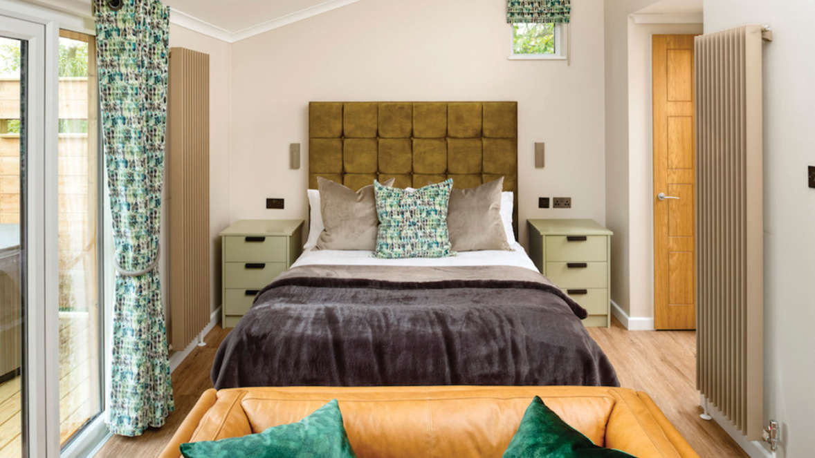 The shrubbery treehouse accommodation bedroom