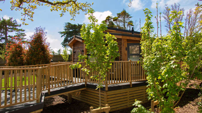 The Shrubbery New Forest accommodation sleeps two