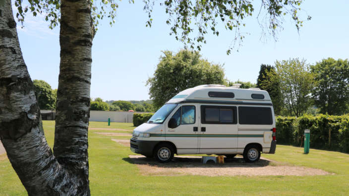 Spacious Hardstanding Pitches Equipped With Electric Hookup Available At Lytton Lawn And Wilksworth