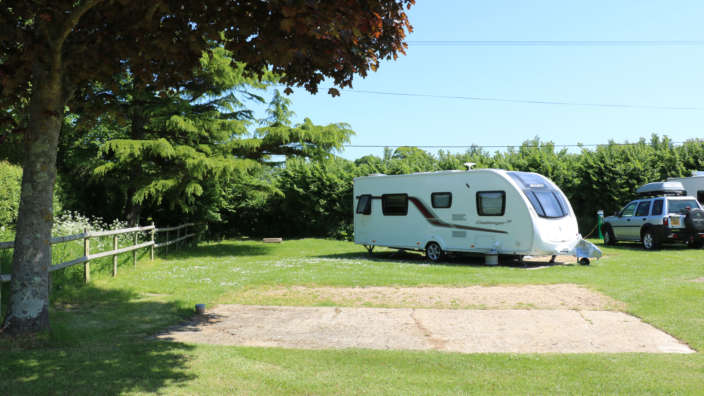 Spacious Hardstanding Pitches Equipped With Electric Hookup