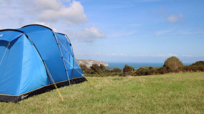 Views-across-Swanage-Bay-from-our-informal-summer-camping-field-at-Swanage-Coastal-Park