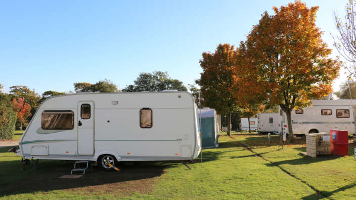 Seasonal Pitches Available At Lytton Lawn Touring Park