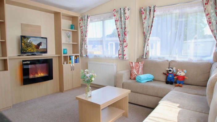 Statement caravan range at Forest Edge Holiday Park