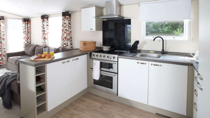 4 Well Equipped Kitchen In A Typical Sensation Caravan