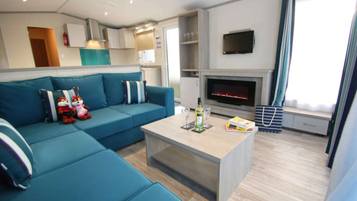 5 Lounge In A Sensation Caravan
