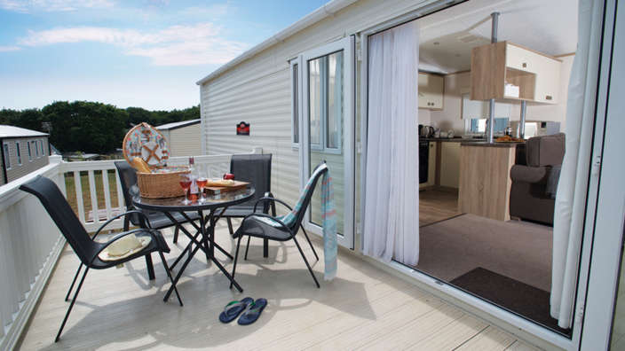 1 Break Away And Enjoy The Sunshine On The Decked Area Of Your Supreme Caravan
