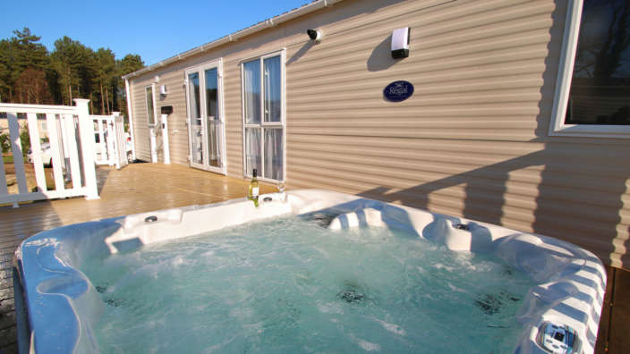 All Our Sublime Caravans Are Equipped With A Relaxing Hot Tub
