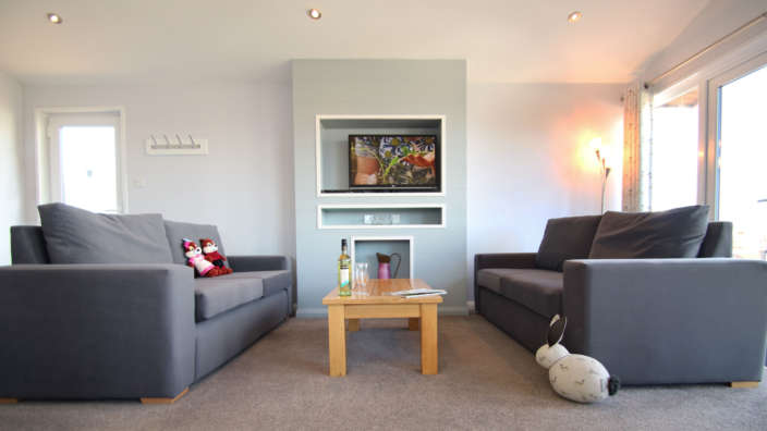 4  Our Signature Lodges Have Spacious Living Rooms