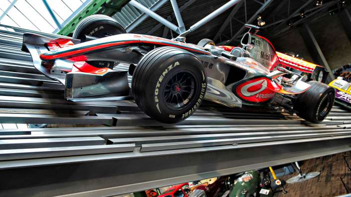 Formula One Cars At Beaulieu National Motor Museum