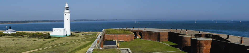 Hurst-Castle-a-military-fortress-in-Milford-on-Sea