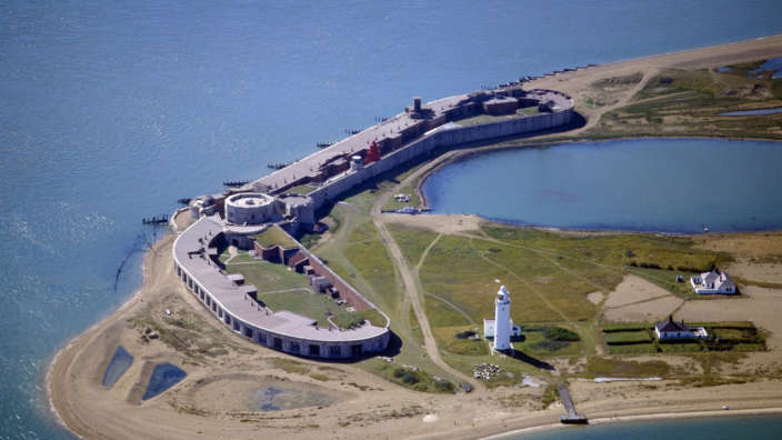 Hurst-Castle-on-the-South-Coast