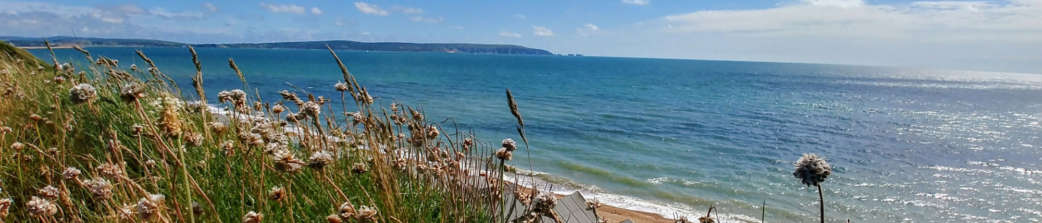 The View Of The Needles From Milford On Sea Beach