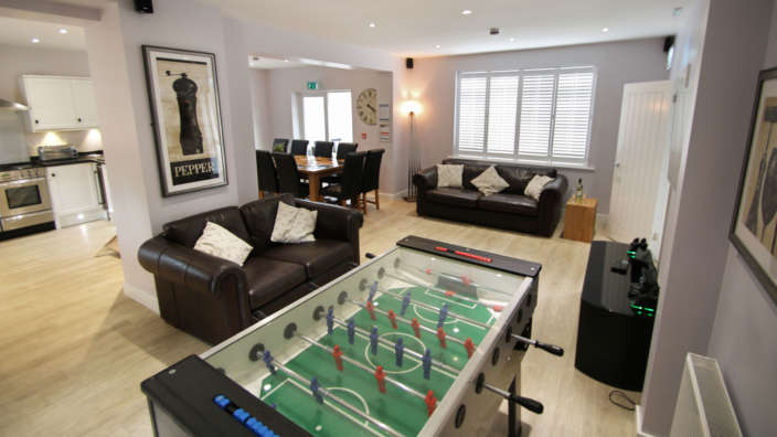6 Football Table And Xbox
