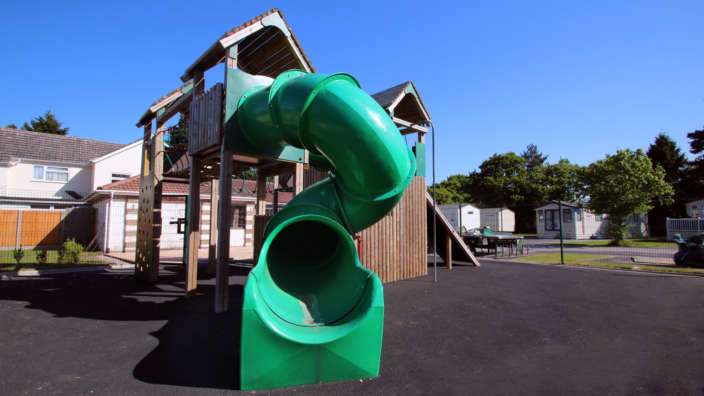 4 Chilrdren's Play Park Area At Forest Edge