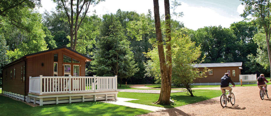 Woodland Lodges at Merley Court Holiday Park