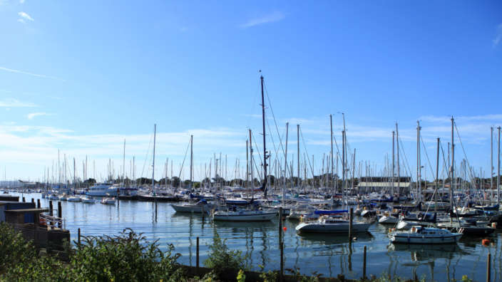 2 Lymington Harbour Boats