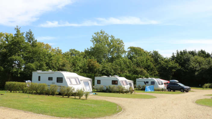 3 Touring Caravans Hardstanding Pitches