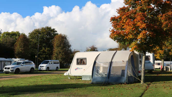 5 Touring Caravan Autumn