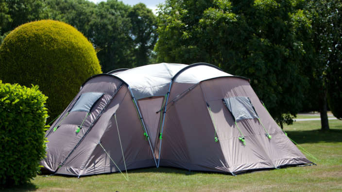 7 Tent Secluded Camping