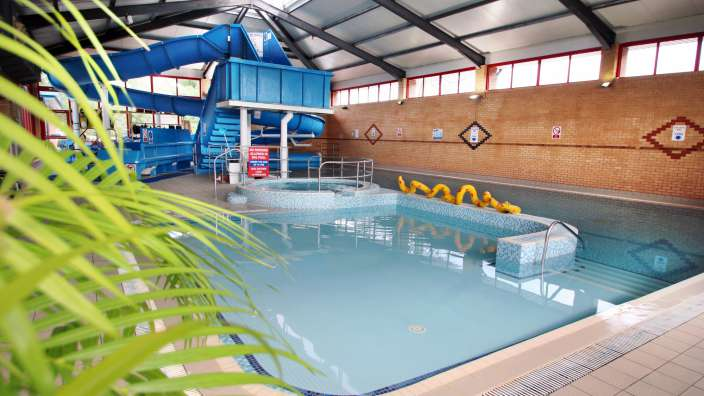 1 Indoor Pool Flume Shallow