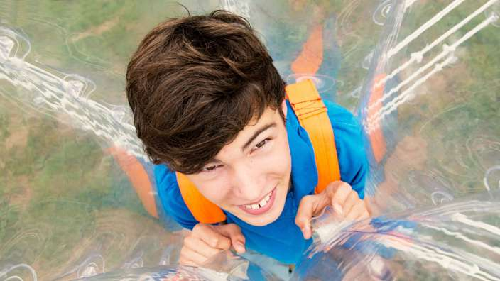 Boy Body Zorb Activity