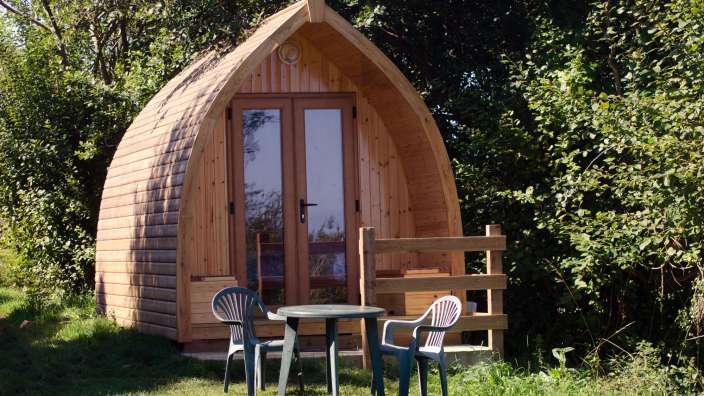 3 Glamping Pod Swanage